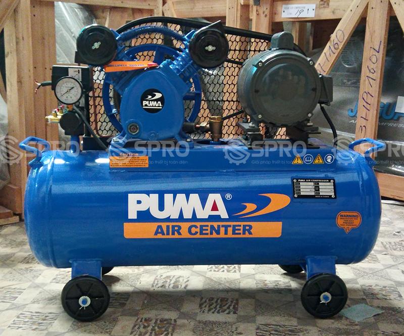 Máy bơm hơi, Máy nén khí piston 1/2HP 1 cấp Puma PK0260 - Dung tích 60L