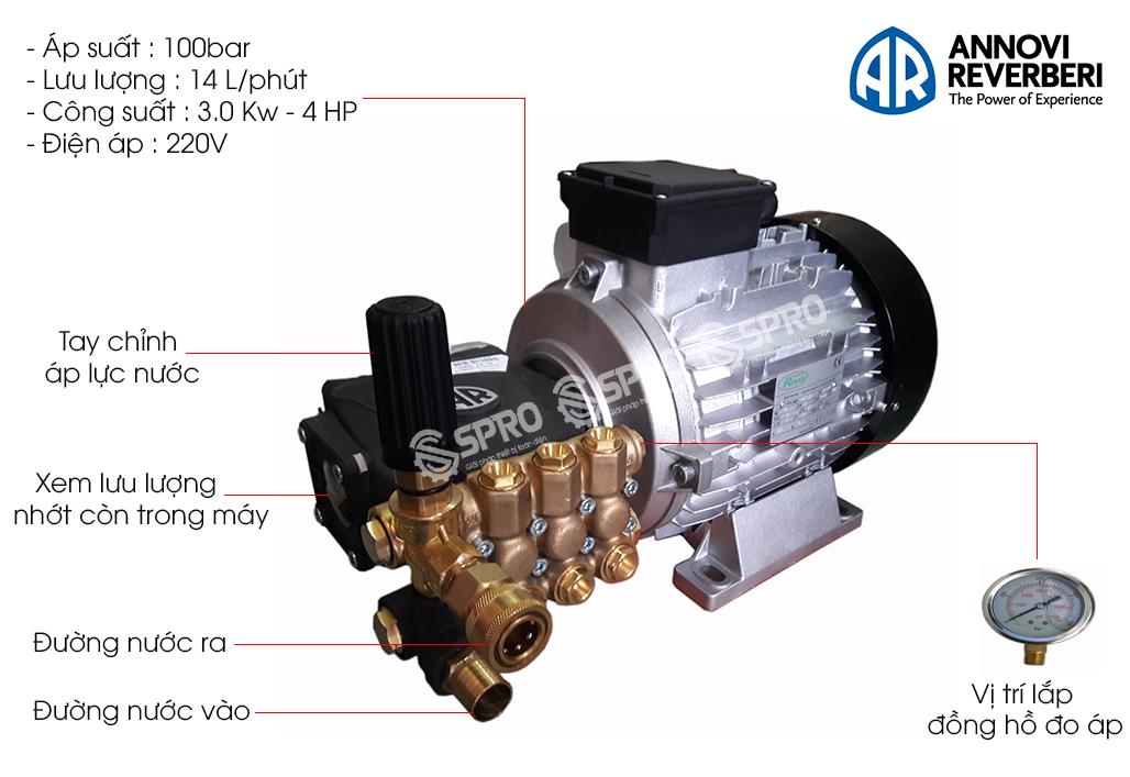 máy rửa xe áp lực cao U30-1410