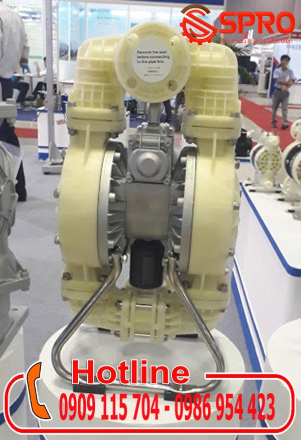 máy bơm màng khí nén yamada NDP-40 bpt