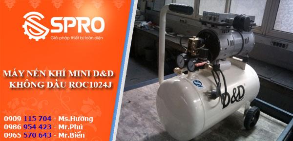 Máy nén khí mini không dầu chuyên dùng trong nha khoa