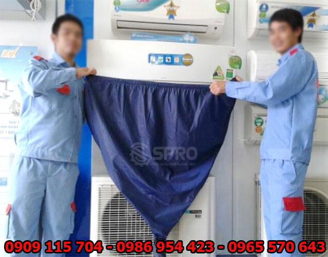 Tặng bọc rửa máy lạnh