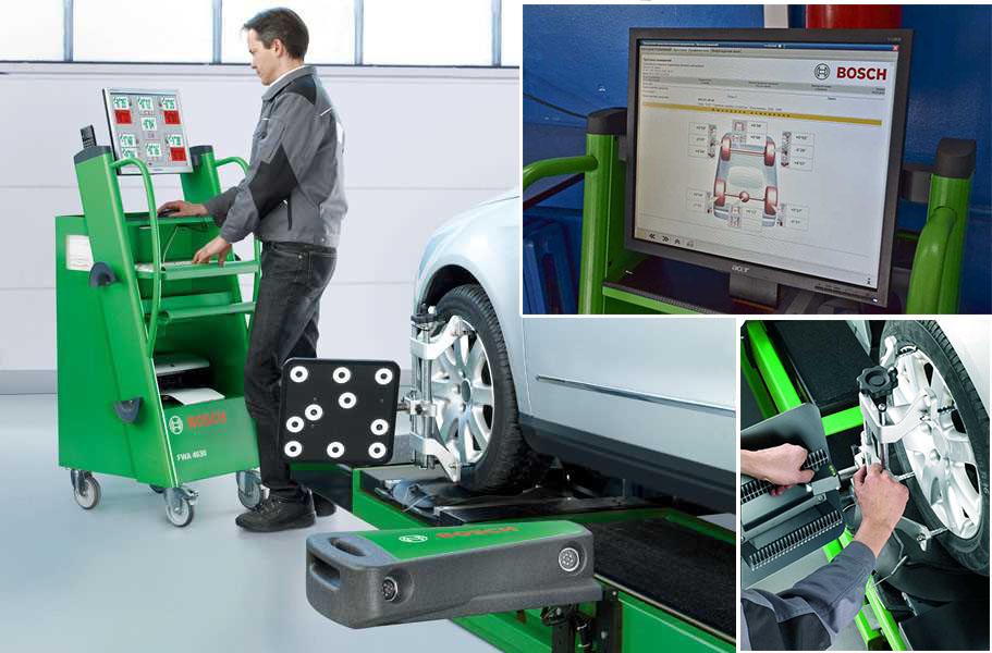 Máy cân chỉnh góc đặt bánh xe