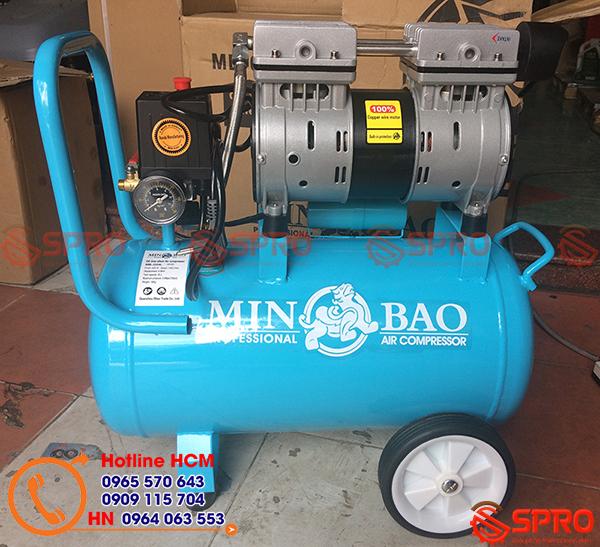 Máy nén khí mini Minbao không dầu Trung Quốc