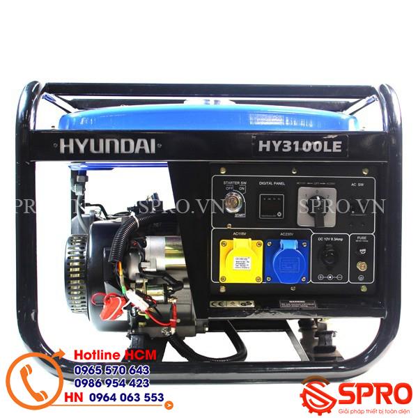Máy phát điện gia đình Hyundai HY3100LE