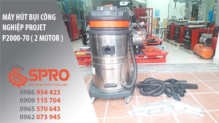 máy hút bụi công nghiệp p2000-70