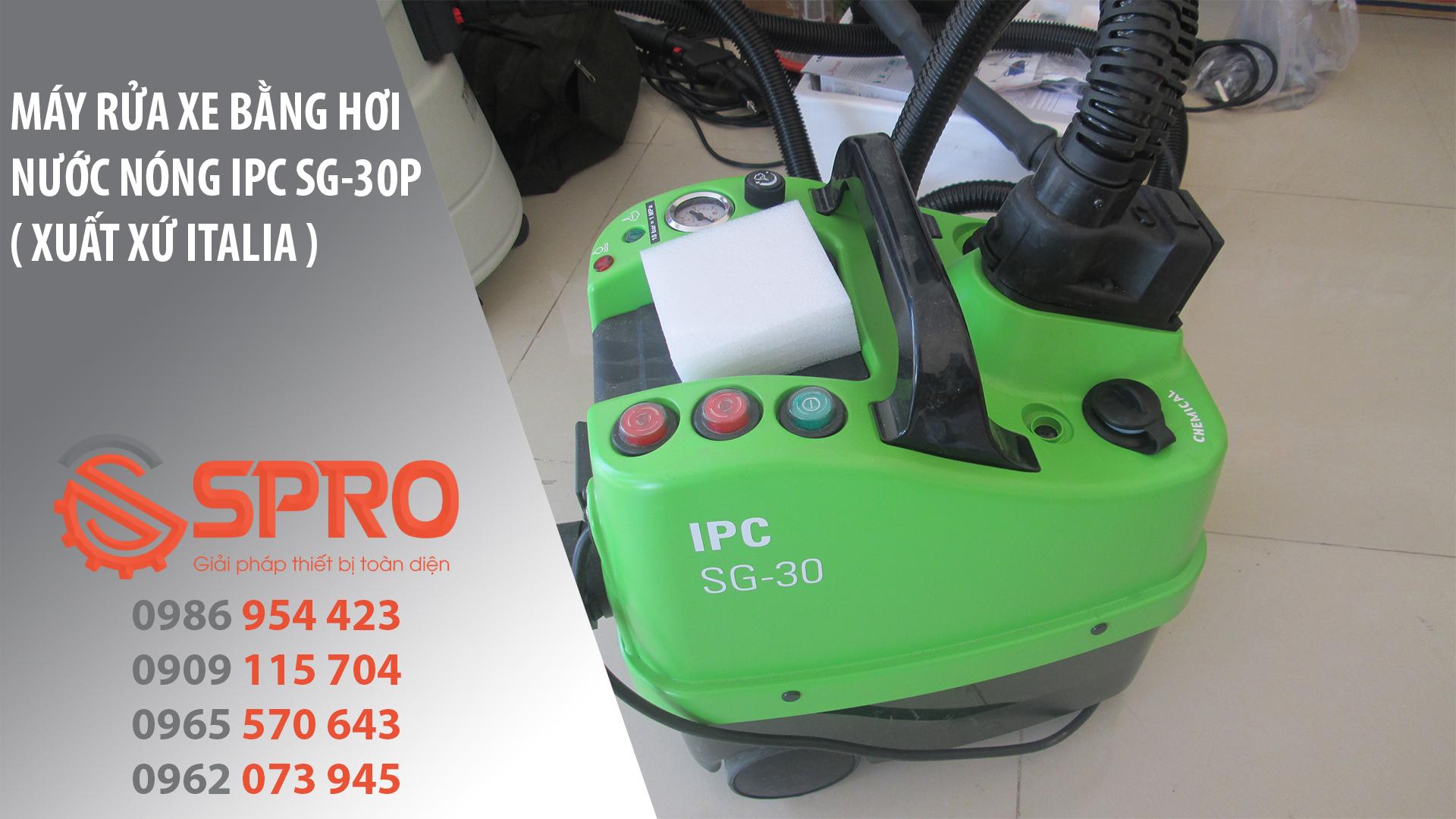 Máy rửa xe bằng hơi nước nóng IPC SG-30