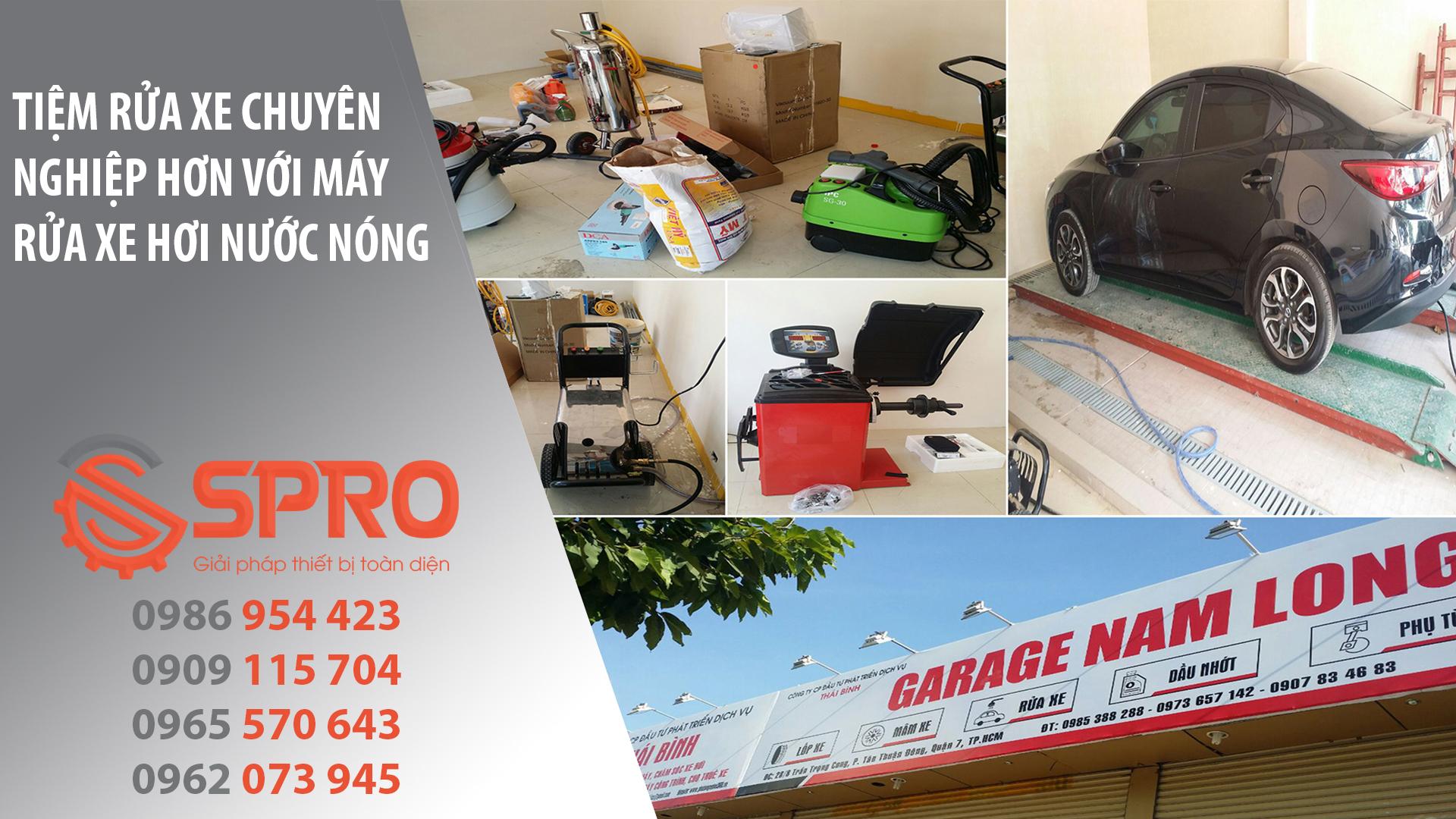 Setup trọn bộ thiết bị cho Garage Nam Long