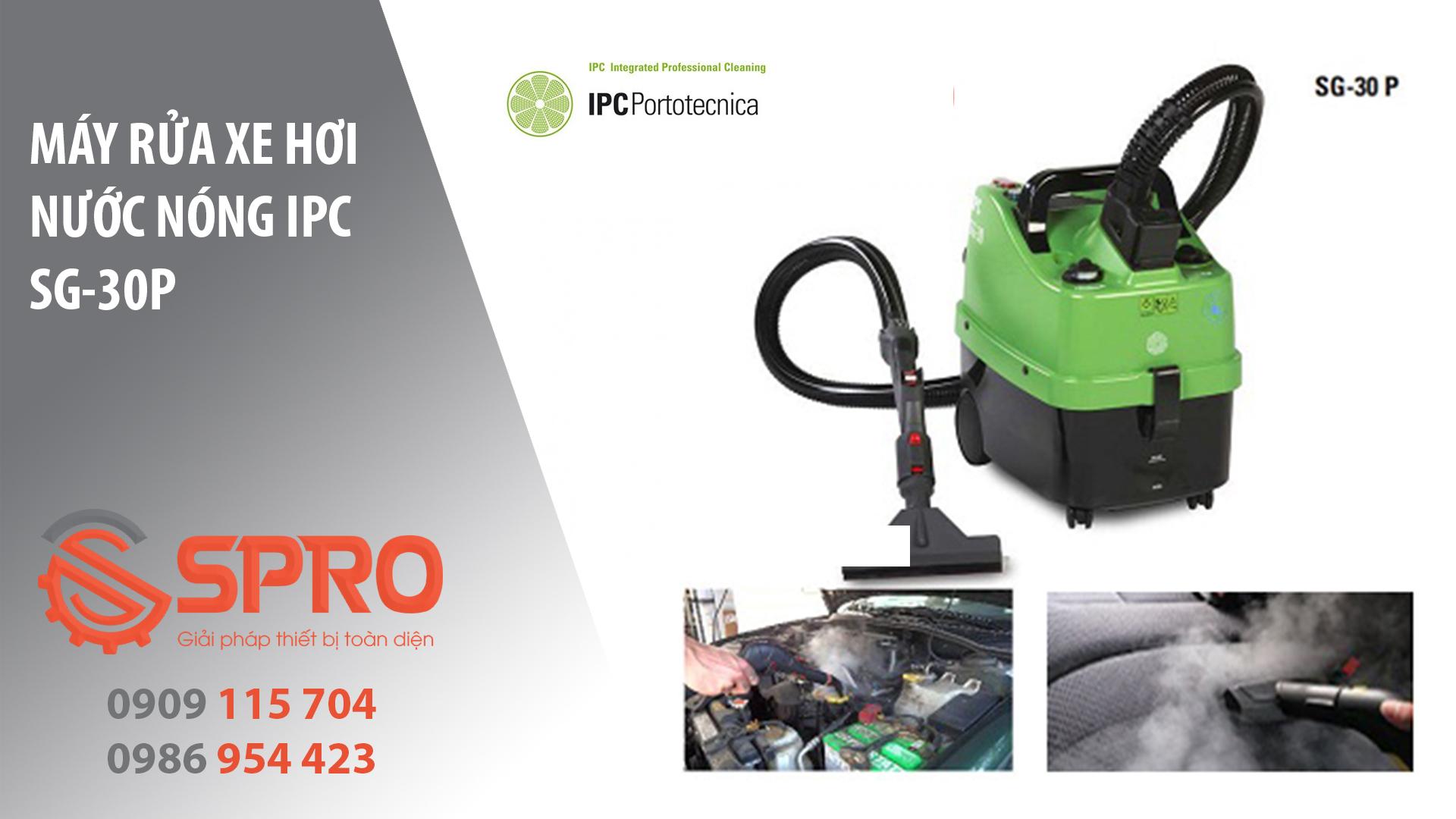 máy rửa xe hơi nước nóng IPC SG-30P