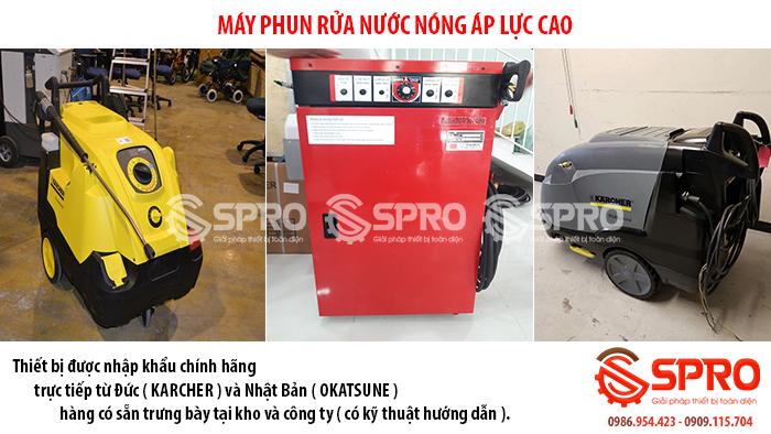 máy xịt rửa nước nóng