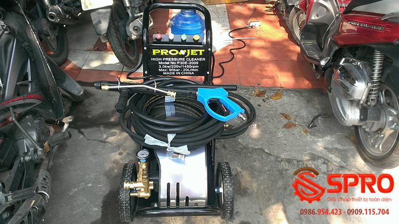 p30e 2009 3 Máy rửa xe ô tô cao áp Projet P30E 2009   Công suất 3.0Kw