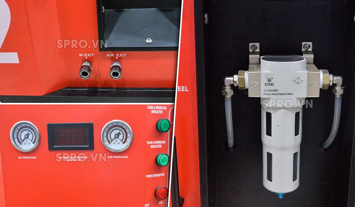 máy bơm khí nitơ