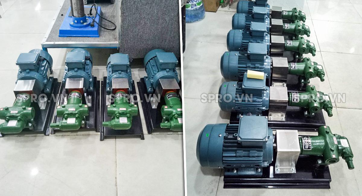 phân phối máy bơm bánh răng Kuang Cheng sỉ và lẻ