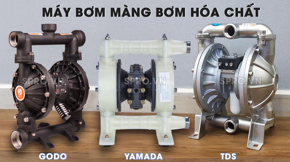Các loại máy bơm màng cao su ưa chuộng hiện nay