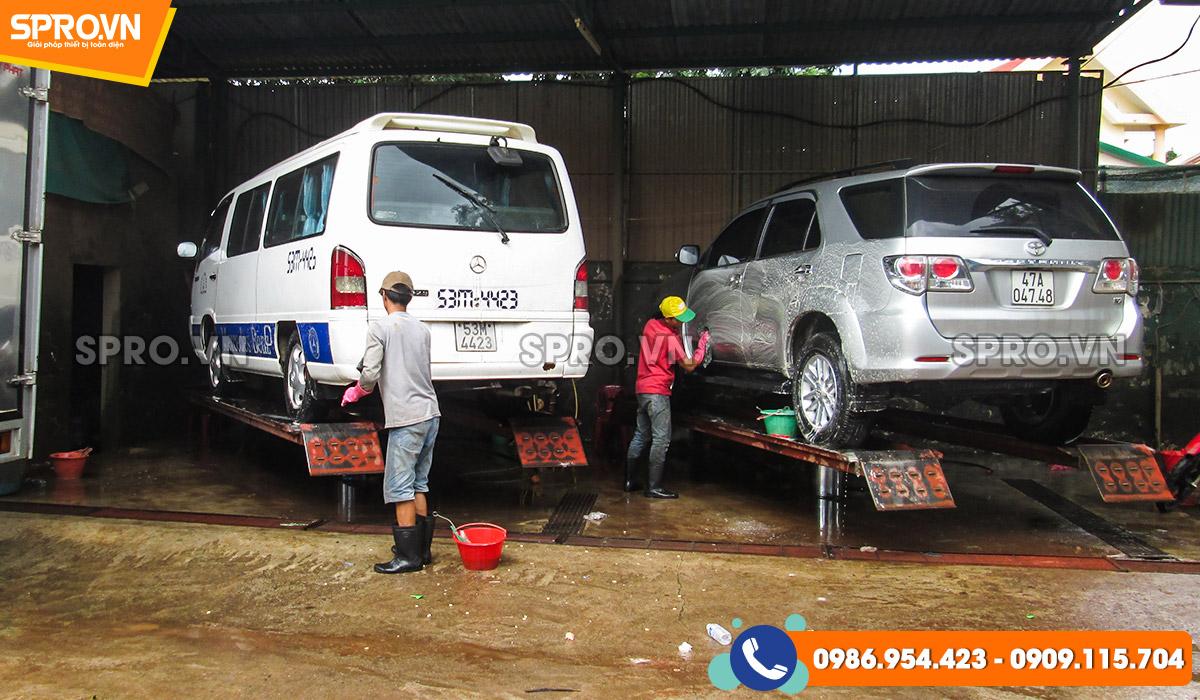 mở tiệm rửa xe thu lợi nhuận cao