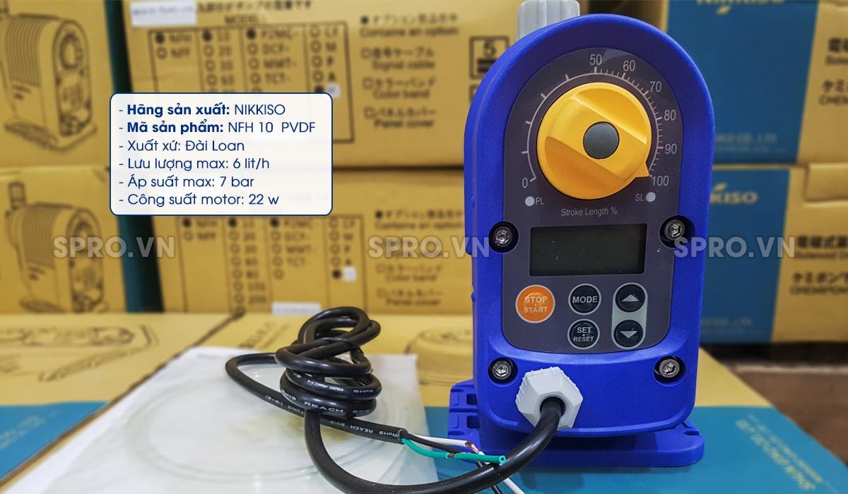 Máy bơm định lượng Đài LoanNFH10 P2MC CE