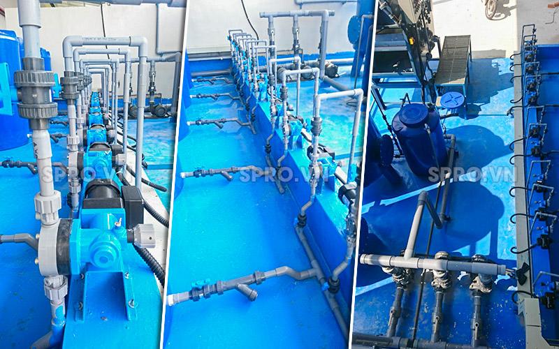 Máy bơm định lượng Nikkiso trong bơm nước thải