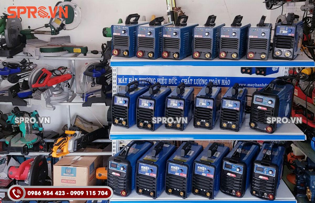 Các loại máy hàn điện tử tại SPRO