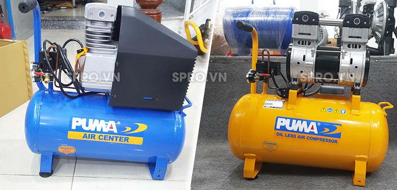 máy nén khí mini puma, máy bơm hơi đài loan mini