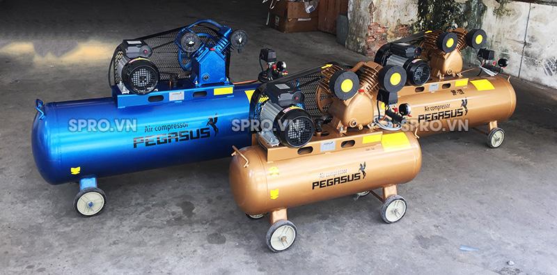 Máy bơm hơi khí nén Pegasus dành cho tiệm sửa xe máy