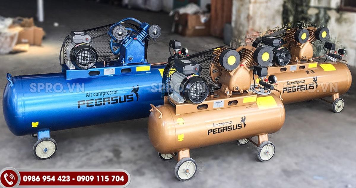 máy nén khí piston pegasus, máy bơm hơi pegasus việt nam