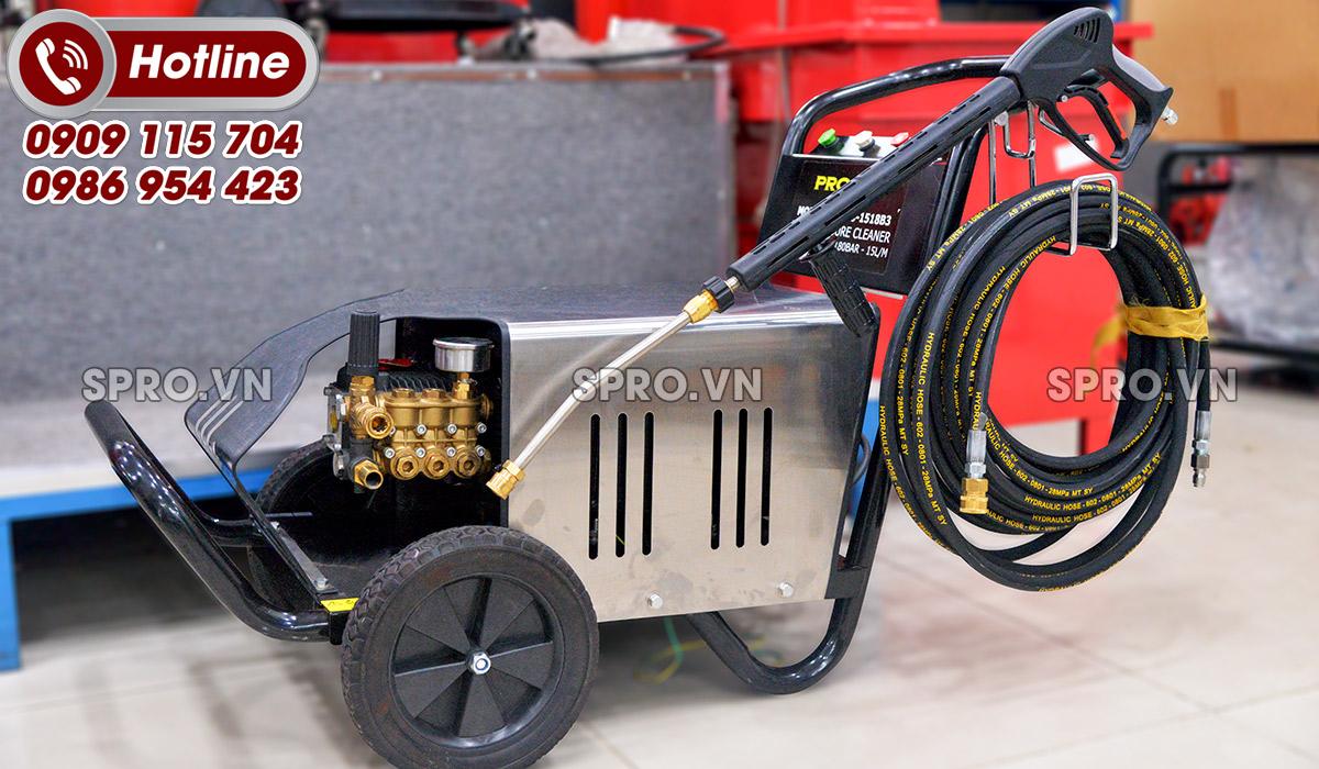 Cách sử dụng máy rửa xe áp lực cao