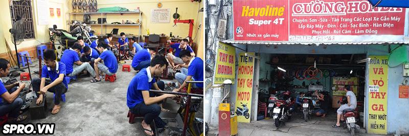 5 lí do khiến nghề sửa xe máy hái ra tiền