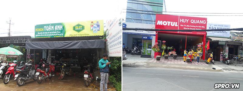 Làm sao để các tiệm sửa xe máy luôn đông khách