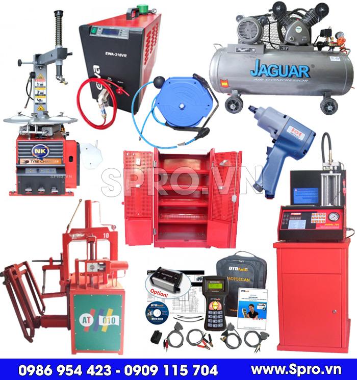 thiết bị, đồ nghề, dụng cụ sửa chữa xe máy giá rẻ tại spro